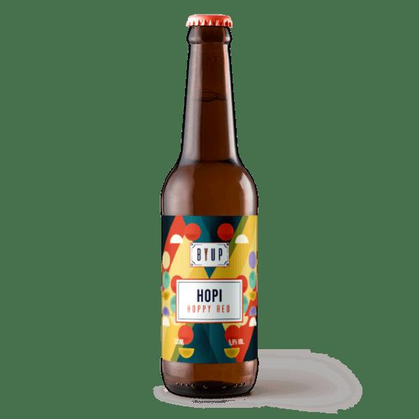 hopi bière par byup brasserie la roque d'anthéron bouches du rhones